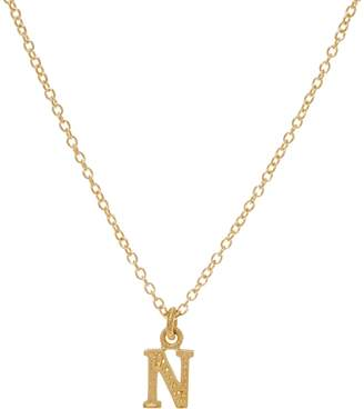 Judith Ripka 14K Gold Initial Necklace