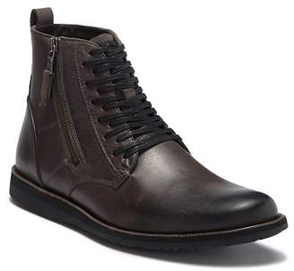 John Varvatos Star B Side Zip Leather Boot