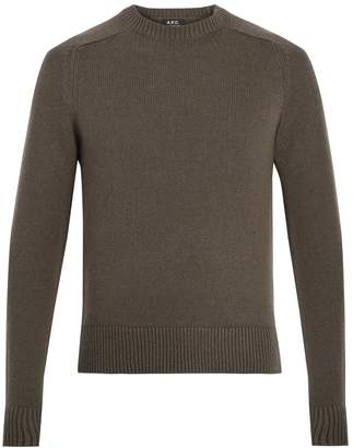 A.P.C. Jon wool-blend sweater