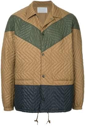 Kolor quilted lightweight jacket