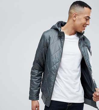 Ringspun TALL Quilted Hooded Jacket