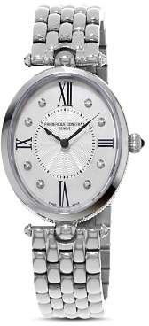 Frederique Constant Classics Art Deco Oval Grande Watch, 34mm x 28mm