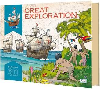 SASSI Travel, Learn, & Explore the Santa Maria, 3D Model & Book Set