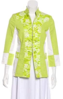 St. John Sport Printed Casual Jacket