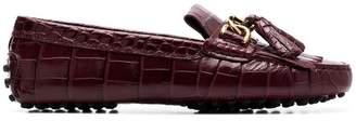 Tod's taseel-embellished loafers
