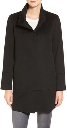 Women's Fleurette Loro Piana Wool Car Coat $1,049 thestylecure.com