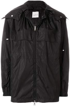 Moncler zipped oversized jacket