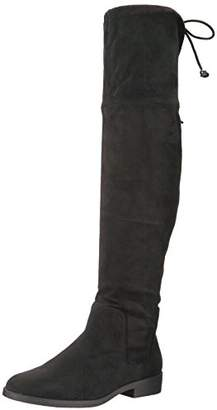 Rampage Women's Upside Over The Knee Boot