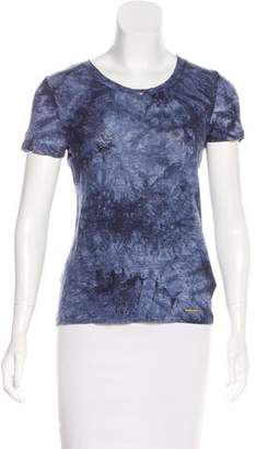 MICHAEL Michael Kors Linen Tie-Dye T-Shirt