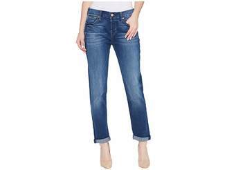 7 For All Mankind Josefina Jeans in Rich Coastal Blue