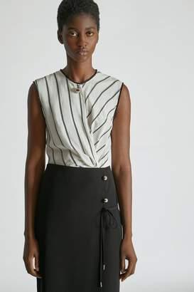 Yigal Azrouel Tissue Crepe Wrap Skirt