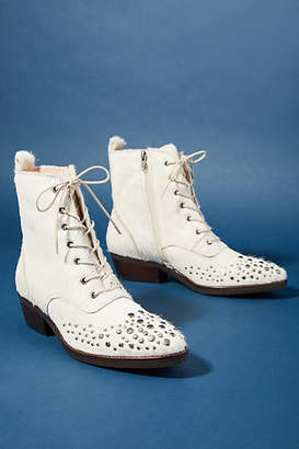 LF/Life Dottie Lace-Up Booties
