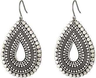 Lucky Brand Blue Moon Tribal Tear Drop Earrings Earring