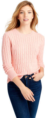 Vineyard Vines Plaited Cashmere Coral Lane Sweater