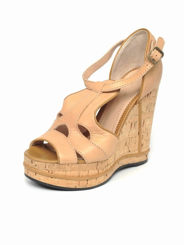 Chloe Cork Wedge