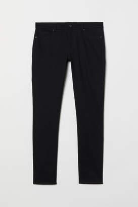 H&M Twill Pants Super Skinny Fit - Black