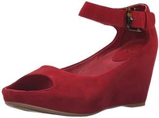 Johnston & Murphy Women's Tricia Ankle Strap Wedge Sandal