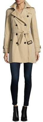 Burberry The Westminster - Mid-Length Classic Fit Heritage Trench Coat, Honey $1,795 thestylecure.com