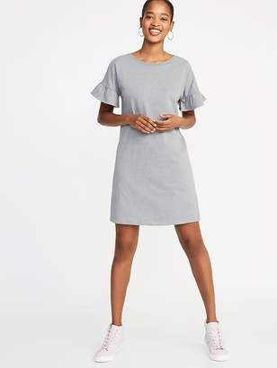 Old Navy Ruffle-Sleeve Tee Dress for Women
