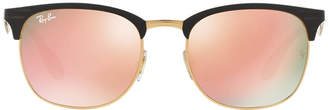 Ray-Ban Rb3538 53 Black Square Sunglasses