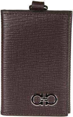 Salvatore Ferragamo Snap Button Wallet