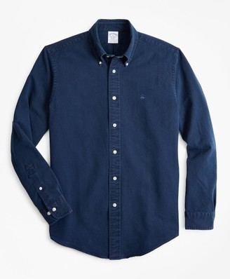 Brooks Brothers Regent Fit Indigo Dyed Sport Shirt