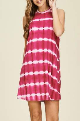 Papermoon Remi Fuchsia Dress