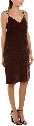 Splendid Crushed Velvet Slip Dress