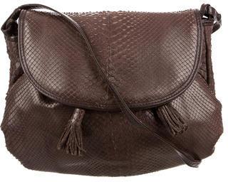 Bottega VenetaBottega Veneta Small Snakeskin Crossbody bag