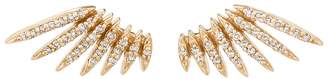 Celine Daoust Flying Diamond Wing Stud Earrings