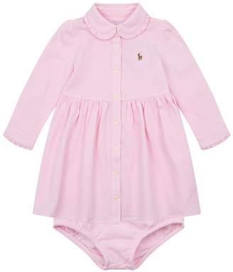 Polo Ralph Lauren Shirt Dress with Bloomers