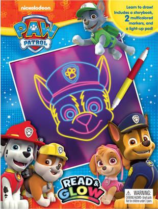 story. Paw Patrol Read & Glow Book