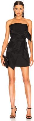 Carmen March Strapless Buckle Dress
