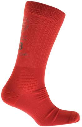 Y-3 Y3 Tube Socks Red