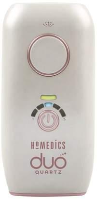 Homedics duo quartz IPL hair removal system