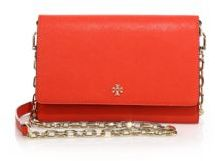 Tory Burch Robinson Chain Wallet $295 thestylecure.com