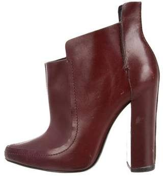 Alexander Wang Pointed-Toe Leather Booties