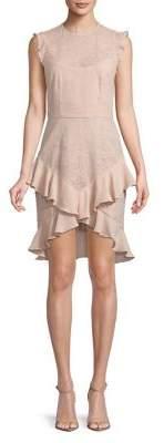 Cooper St Ruffled Lace Dress