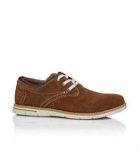 Florsheim Mandalay Three Hole Derby Casual With Rubber Sole