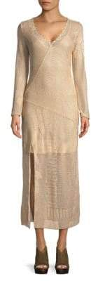 Free People Neutral Line This Midi Dress