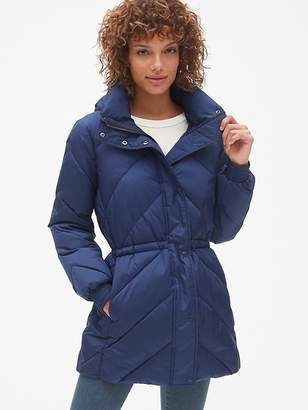 Gap ColdControl Elongated Puffer Jacket with Cinched-Waist