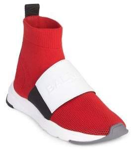 Balmain Running Cameron Maille Sneakers