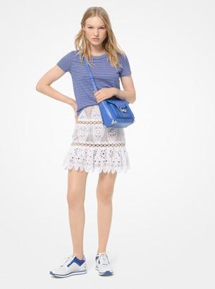 MICHAEL Michael Kors Medallion Lace Skirt