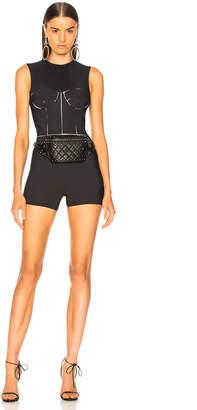 Maison Margiela Bodice Cutout Bodysuit