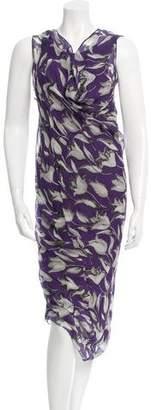 Vera Wang Silk Dress $195 thestylecure.com