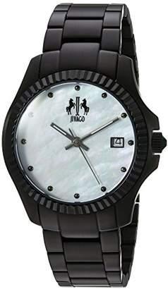Jivago Women's JV3211W Analog Display Swiss Quartz Black Watch