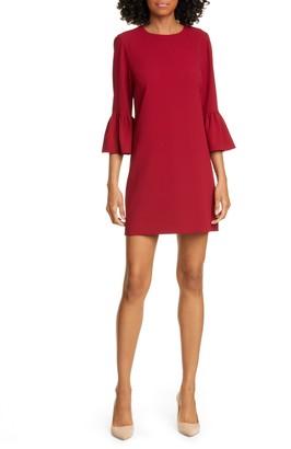 Alice + Olivia Coley Ruffle Sleeve A-Line Dress