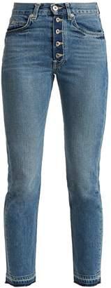 Silver Bullet EVE DENIM high-rise straight-leg jeans