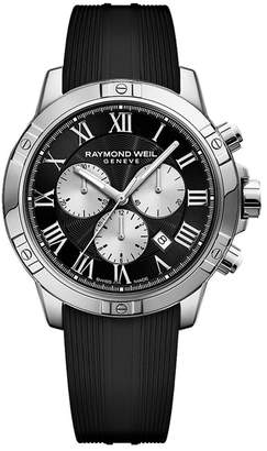 Raymond Weil Men's Tango Chronograph Strap Watch, 43mm