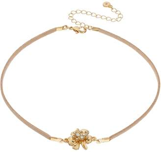 Lauren Conrad Flower Choker Necklace